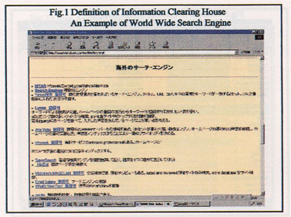Through This Information Clearing House, Users Get Information On Not Only  Information Sources But Also Information ...